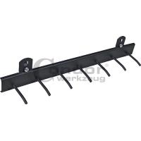 Laikiklis įrankiams su 7 kabliukais / tvirtinamas ant vežimėlio