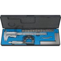 Precizinio matavimo įrankių komplektas 4 dalių