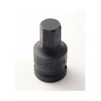Smūginis 1/2 šešiakampis H17 antgalis / 40mm ilgio