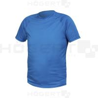 Marškinėliai mėlynos spalvos poliesterio XL dydis