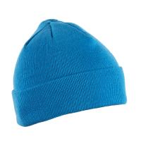 Kepurė megzta universalaus dydžio, žydra