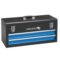 Metalinė įrankių dėžė su 2 stalčiais HOEGERT HT7G074