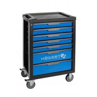 Profesionalus įrankių vežimėlis 7 stalčių / be įrankių