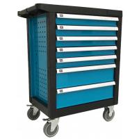 Įrankių vežimėlis 7 stalčių su įrankiais