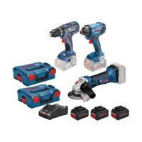 Bosch 18V akumuliatorinių įrankių komplektas / 3x4,0Ah procore