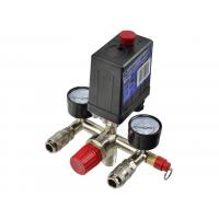 Reguliatorius kompresoriui su slėgio jungikliu ir manometrais