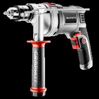 Smūginis gręžtuvas 850W / griebtuvas 13mm / GRAPHITE 58G728