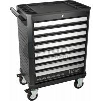 Profesionalus įrankių vežimėlis 8 stalčių / be įrankių / XCESS