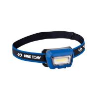 Žibintas ant galvos 3W COB-LED įkraunamas / King Tony