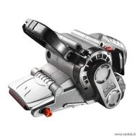 Juostinis šlifuoklis 800W / 75x457mm / reguliuojamas greitis - GRAPHITE 59G392