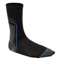 Kojinės ilgos juodos-grafito baltos 39/40 dydis