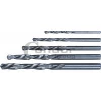 Kairinių grąžtų k-tas metalui HSS 3-4-5-6-7mm