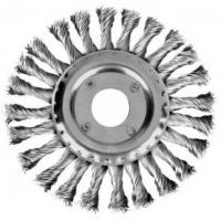 Šepetys disko tipo, plieninis 115 mm, 22,2mm skylė