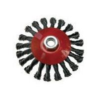 Šepetys disko tipo plieninis 100mm