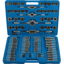 Hand tap and die, sets, tap wrenches