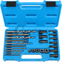 Tools for unscrewing broken bolts and nuts