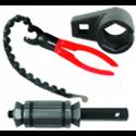 Car silencer repair tools