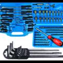 Screwdrivers, sets, L & T handles