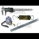 Matavimo priemonės (slankmačiai, ruletės, gulsčiukai, liniuotės)
