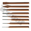 Chisels, markers, centering tools
