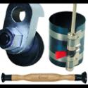 Variklio cilindrų, vožtuvų, žiedų remonto įrankiai