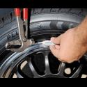 Priemonės ratų montavimui - balansavimui