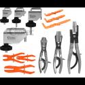 Žarnų užspaudimo įrankiai