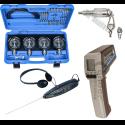 Kiti matuokliai (stetoskopai, termometrai, karbiuratoriams)