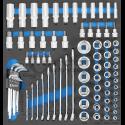 Coliniai įrankiai (raktai, galvutės, komplektai)