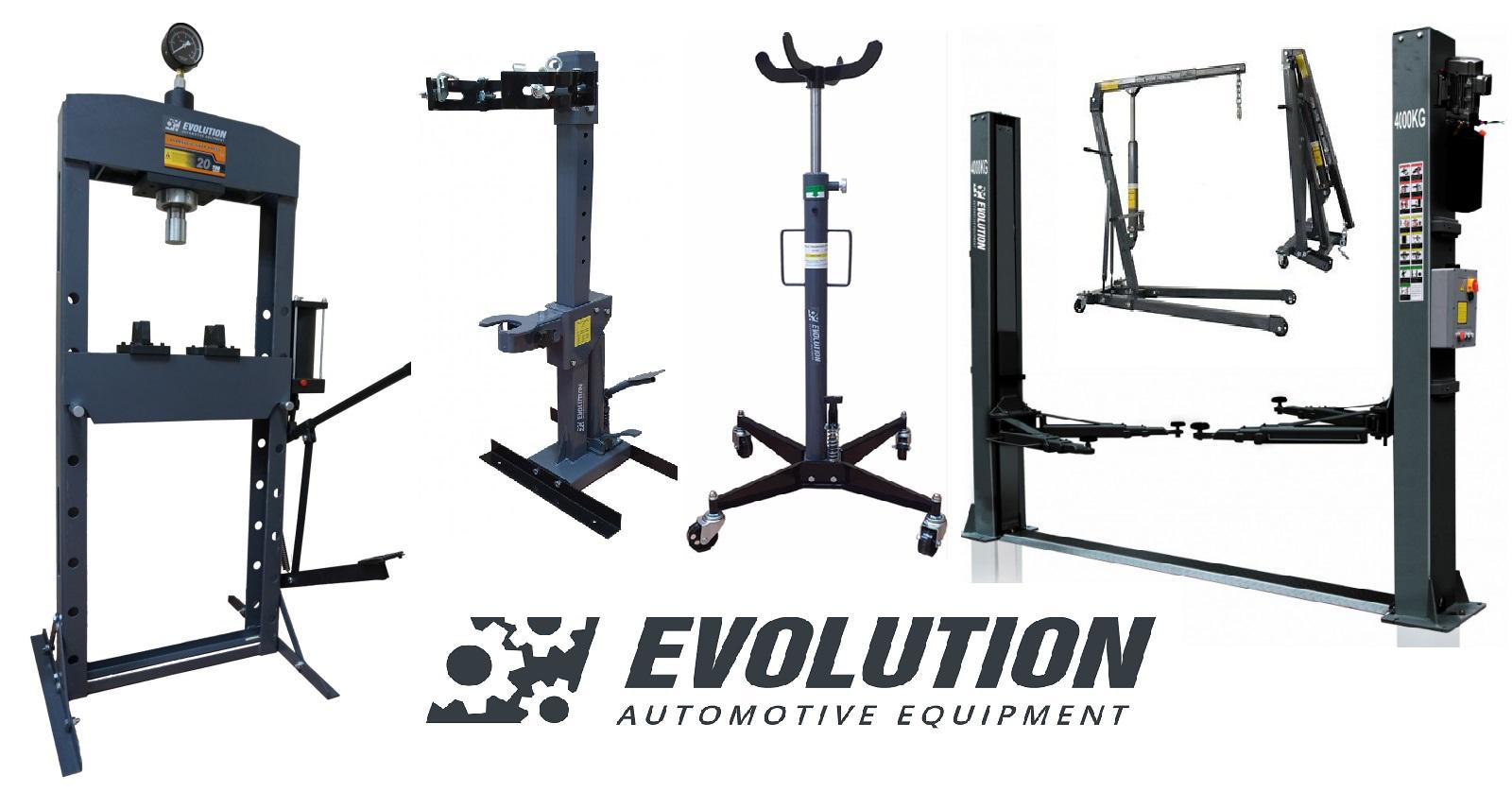 EVOLUTION PROFESSIONAL AUTOMOTIVE EQUIPMENT